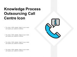 Knowledge Process Outsourcing Call Centre Icon