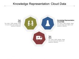 Knowledge Representation Cloud Data Ppt Powerpoint Presentation Infographic Template Cpb
