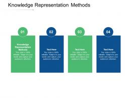 Knowledge Representation Methods Ppt Powerpoint Presentation Summary Layout Ideas Cpb