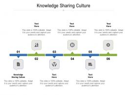 Knowledge Sharing Culture Ppt Powerpoint Presentation File Influencers Cpb