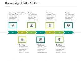 Knowledge Skills Abilities Ppt Powerpoint Presentation Gallery Deck Cpb