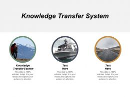 Knowledge Transfer System Ppt Powerpoint Presentation Gallery Graphic Tips Cpb