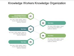 Knowledge Workers Knowledge Organization Ppt Powerpoint Presentation Ideas Layouts Cpb