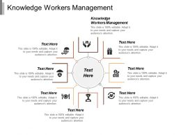 Knowledge Workers Management Ppt Powerpoint Presentation Icon Outline Cpb