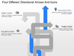 ko_four_different_directional_arrows_and_icons_powerpoint_template_Slide02