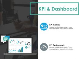 Kpi And Dashboard Ppt Styles Infographic Template