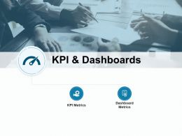 Kpi And Dashboards Metrics Checklist Ppt Powerpoint Presentation File Icons