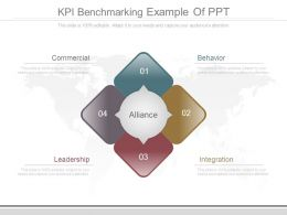 Kpi Benchmarking Example Of Ppt