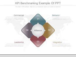 Kpi Benchmarking Example Of Ppt