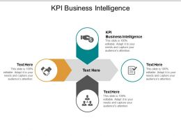 KPI Business Intelligence Ppt Powerpoint Presentation File Format Ideas Cpb