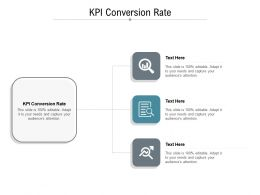 KPI Conversion Rate Ppt Powerpoint Presentation Styles Graphics Example Cpb