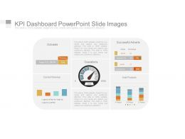 Kpi Dashboard Powerpoint Slide Images