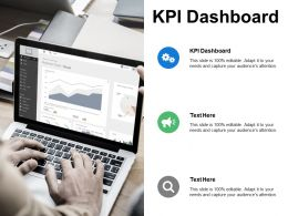 Kpi Dashboard Ppt Powerpoint Presentation Gallery Slides Cpb