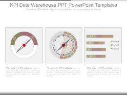 Kpi Data Warehouse Ppt Powerpoint Templates