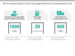 kpi_for_import_export_cost_fuel_usage_outbound_transportation_cost_presentation_slide_Slide01