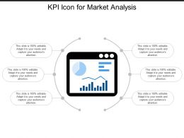 Kpi Icon For Market Analysis
