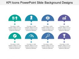 Kpi Icons Powerpoint Slide Background Designs