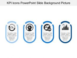 Kpi Icons Powerpoint Slide Background Picture