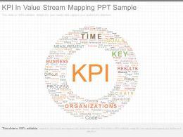 Kpi In Value Stream Mapping Ppt Sample