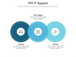 KPI IT Support Ppt Powerpoint Presentation Styles Clipart Cpb