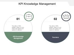 Kpi Knowledge Management Ppt Powerpoint Presentation Inspiration Model Cpb