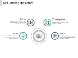 KPI Leading Indicators Ppt Powerpoint Presentation File Portrait Cpb