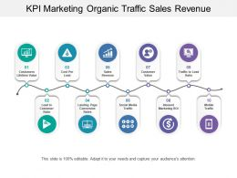Kpi Marketing Organic Traffic Sales Revenue