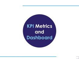 KPI Metrics And Dashboard A1220 Ppt Powerpoint Presentation Show Brochure