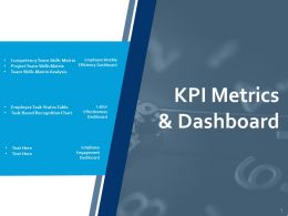 KPI Metrics And Dashboard Analysis Ppt Powerpoint Presentation Slides Information