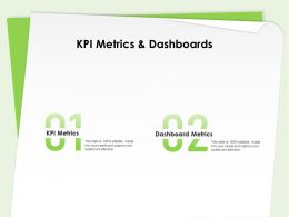 Kpi Metrics And Dashboards Audiences Attention Ppt Powerpoint Presentation Templates