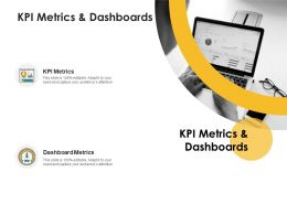 KPI Metrics And Dashboards Ppt Powerpoint Presentation Slide Portrait