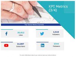 KPI Metrics Followers M2658 Ppt Powerpoint Presentation Infographic Template Maker