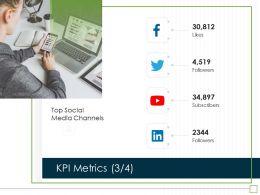 KPI Metrics M2977 Ppt Powerpoint Presentation Infographic Template Portfolio