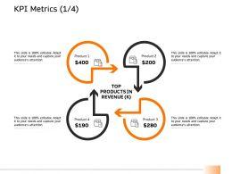 KPI Metrics Product Ppt Powerpoint Presentation Styles Tips