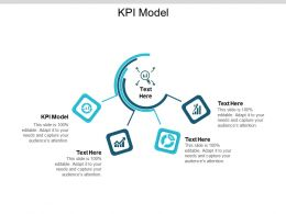 KPI Model Ppt Powerpoint Presentation Layouts Elements Cpb