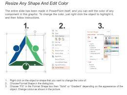 Kpi Proposal Icon Showing Content Marketing Analysis Dashboard