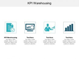 KPI Warehousing Ppt Powerpoint Presentation Infographics Format Ideas Cpb