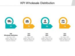 KPI Wholesale Distribution Ppt Powerpoint Presentation Summary Display Cpb