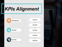KPIs Alignment Ppt Powerpoint Presentation Portfolio Guidelines Cpb