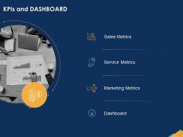 KPIS And Dashboard Metrics Powerpoint Presentation Layout Ideas