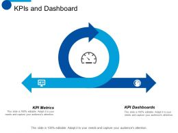 KPIs And Dashboard Process Ppt Styles Design Inspiration