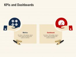 Kpis And Dashboards Audiences Attention Ppt Powerpoint Presentation Designs