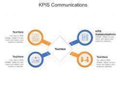 KPIS Communications Ppt Powerpoint Presentation Portfolio Deck Cpb