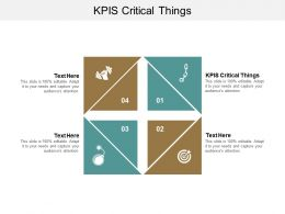 Kpis Critical Things Ppt Powerpoint Presentation Gallery Format Cpb