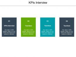 Kpis Interview Ppt Powerpoint Presentation Summary Master Slide Cpb