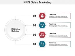 KPIS Sales Marketing Ppt Powerpoint Presentation File Elements Cpb