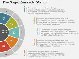 ku_five_staged_semicircle_of_icons_flat_powerpoint_design_Slide01