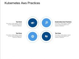 Kubernetes Aws Practices Ppt Powerpoint Presentation Infographic Template Display Cpb