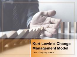 Kurt Lewins Change Management Model Powerpoint Presentation Slides