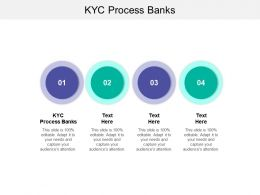 KYC Process Banks Ppt Powerpoint Presentation Slides Inspiration Cpb